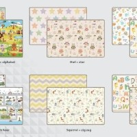 Promo Karpet bayi PARKLON Rush Hour Korea Baby Playmat PE Roll Play Ma