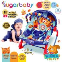 Sugar Baby New 10in1 Premium Rocker Extra Large Seat - Wooden Folks