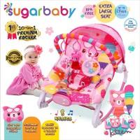 Sugar Baby New 10in1 Premium Rocker Extra Large Seat - Lola Kitten