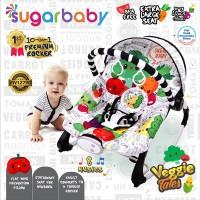 Sugar Baby New 10in1 Premium Rocker Extra Large Seat - Veggie Tales