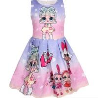 Dress Anak Lol Surprise Jacquar Size 3-7th