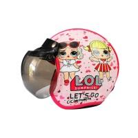 PROMO Helm Anak Perempuan 7-10 tahun Motif LOL Suprise