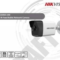 Ip Camera Bullet Hikvision 2Mp 4Mm H265 Ds-2Cd2021-Iax Paling Laris