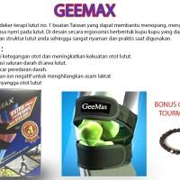 GEEMAX POWER KNEE Ukuran L - ALAT TERAPI LUTUT - FREE GELANG TOURMALIN