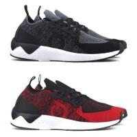 Sepatu Lari Running Ortuseight Radiance - Black Red Navy Original Ortu