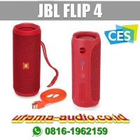 JBL Flip4 ( Flip-4 ) Garansi IMS Portable Bluetooth Speaker - Merah