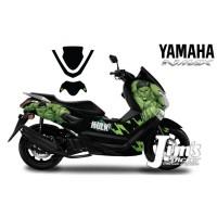 DECAL STICKER MOTOR YAMAHA NMAX HULK EDITIONS