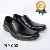 Sepatu pantofel pria - Sepatu Kantor Murah P I PLS HTM 001 - 40