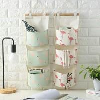 Pouch Gantung 3 Sekat Hanging Storage Bag Organizer Bags Travel Tas ok