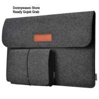 Tas Bonus Pouch Soft Sleeve Case Notebook Laptop Macbook Slim 12 13 15