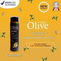 OLIVE HAIR CONDITIONER KEMIRI ORIGINAL BPOM - CONDITIONER OLIVE KEMIRI