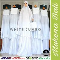 Mukena Bali White Jumbo Katun Rayon Super Grosir Murah