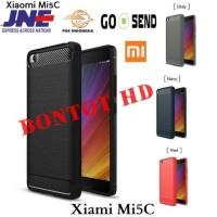 Casing Ipaky Carbon Slim Case Cover Armor Hybrid Xiaomi Mi5C - Mi 5C