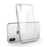 Spigen iPhone XS / X Case Ultra Hybrid Crystal Clear (Ver.2) (ORIGINAL