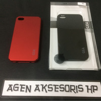 GEA Soft Touch iPhone 4 4G 4S Hardcase ECO Slim Anti Baret Anti Oil