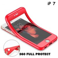 FOR IPHONE 7 - 360 FULL PROTECT SOFT SILICONE CASE CASING