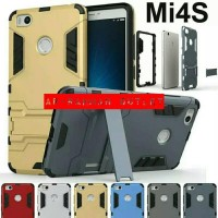 CASING XIAOMI MI4S ARMOR HYBRID ROBOT WITH STAND BACK CASE COVER MI 4S
