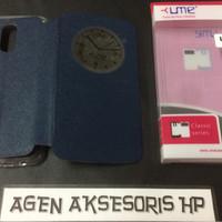 Flipcover LG Stylus 3 K10 Pro 5.7 inchi Sarung Buku UME Classic ORI