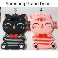 Silicon Case 3D karakter For Samsung Grand duos / Silicon Case