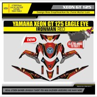 Decal Sticker Motor Yamaha Xeon Gt 125 Fullbody IRON MAN 1