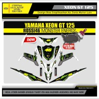 Decal Sticker Motor Yamaha Xeon Gt 125 Fullbody MOSTER