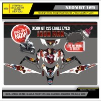 Decal Sticker Motor Yamaha Xeon Gt 125 Fullbody IRON MAN