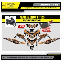 Decal Sticker Motor Yamaha Xeon Gt 125 Fullbody MOTORHEAD