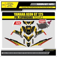Decal Sticker Motor Yamaha Xeon Gt 125 Fullbody ESPARGARO