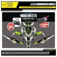 Decal Sticker Motor Yamaha Xeon Gt 125 Fullbody ENERGY