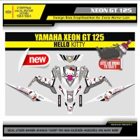 Decal Sticker Motor Yamaha Xeon Gt 125 Fullbody HELLO KITTY 1