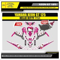 Decal Sticker Motor Yamaha Xeon Gt 125 Fullbody HELLO KITTY