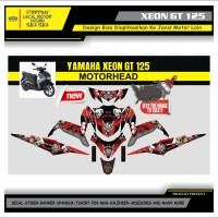 Decal Sticker Motor Yamaha Xeon Gt 125 Fullbody MOTORHEAD 2