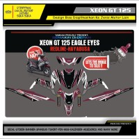 Decal Sticker Motor Yamaha Xeon Gt 125 Fullbody HAYABUSA 1
