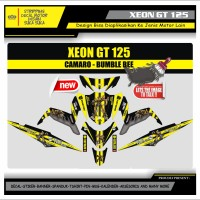 Decal Sticker Motor Yamaha Xeon Gt 125 Fullbody BUMBLEBEE