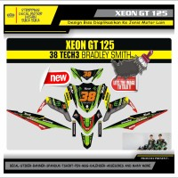 Decal Sticker Motor Yamaha Xeon Gt 125 Fullbody 38 TECH3