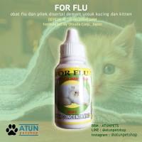 Obat Kucing Pilek Bersin Deman FOR FLU Aman Buat Kitten