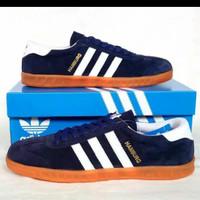 Sepatu Adidas Hamburg Grade ORI Vietnam Stripe White