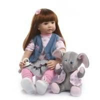 Boneka Reborn With Elephant / Boneka Mirip Bayi NPK