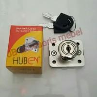 KUNCI LACI/KUNCI LEMARI KECIL 16 mm HUBEN (HL-303)