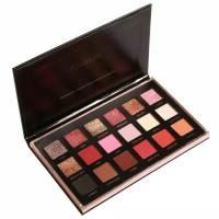 eyeshadow focallure bright lux pallet 18 warna professional