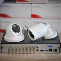 Paket CCTV Infinity 2 MP DVR 16 Channel + 16 Kamera 2MP