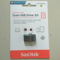 ORIGINAL SANDISK FLASHDISK 32GB OTG DUAL DRIVE m3.0/ 32GB USB 3.0