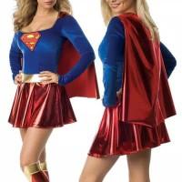 L-1246 - Lingerie Superwoman costume cosplay