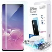 Whitestone dome glass full glue uv tempered glass for Samsung S10 plus