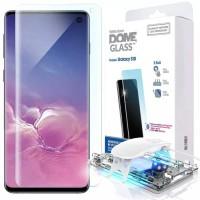 Whitestone dome glass full glue uv tempered glass for Samsung S10