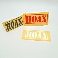 sticker hoax helm motor