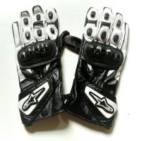 Gloves Sarung Tangan Motor Touring Kulit Full Jari