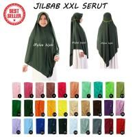 Jilbab Instan Serut Anak Sekolah Atau Dewasa Bahan Kaos Murah