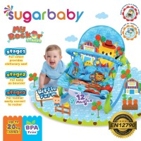 Bouncer Bayi - Sugar Baby My Rocker 3 Stages Baby Bouncer 3 MOTIF