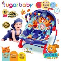 Sugar Baby NEW 10in1 Premium Rocker Bouncer 4 MOTIF - 10 in 1 Bouncer